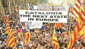 Image result for διαδηλωσεις καταλονια