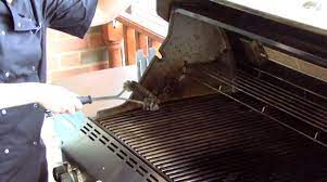 how to clean weber grill cleaning