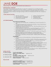 26 Elegant Collection Of Resume Summary For Career Change News