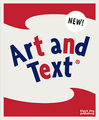 art and text book cover 2009 black dog publishing