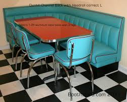Retro Kitchen Table Chairs Booth Style Kitchen Table Kitchen Booth Table Kitchen Booths