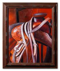 custom framing canvas art