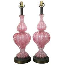 vintage murano lamp vintage pair of pink glass lamps for vintage lampadari murano vintage murano lamp hand blown art glass