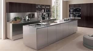 antis kitchen furniture euromobil design euromobil. Antis Kitchen Furniture Euromobil Design Euromobil. Satin Stainless Steel Contemporary Italian Kitchen.