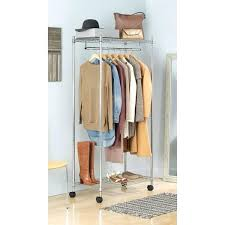 chrome supreme garment rack whitmor double rod closet canadian tire