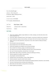 Sample Resume For Housekeeping Download Housekeeper Resume Sample DiplomaticRegatta 7
