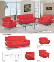 Red Living Room Furniture Global Furniture Leather Sofa Living Room