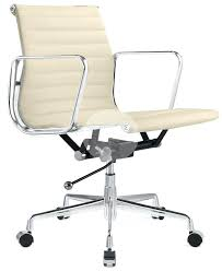 Eames ribbed chair tan office Eames Style Eames Office Chair Original Management Low Back Office Chair Cream Leather Charles Eames Office Chair Original Eames Office Chair Chairs Warehouse Eames Office Chair Original Den Lounge Chair Ray Den In Eames Desk