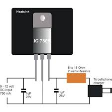 dc to dc battery charger learn how to construct a simple mobile simple dc cell phone charger circuit diagram image