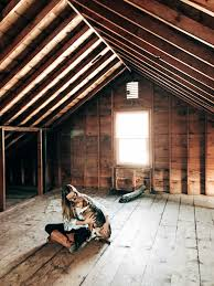 attic in house. live in arctic minnesota and the nails would freeze over every winter putting literal frost on inside of this space attic was not compatible house