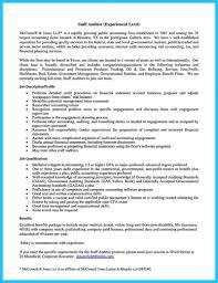 Great Sample Resume For Auditor Job Images Documentation