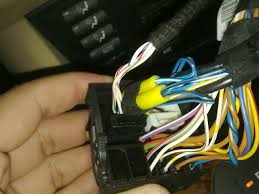 cd53 production date 01 but sw 50 possibility of aux aux cables inserted into the oem plug pack harness the exact configiration it was in the original oem auxillary cable as per manual