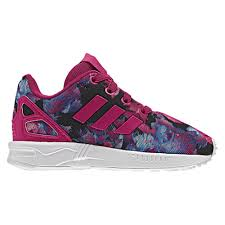 adidas shoes for girls black. adidas originals zx flux - girls\u0027 toddler pink / black shoes for girls e