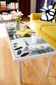 Add more personality to your living space with this photo resin coffee table!  You can