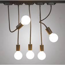 ac 110v 220v e27 lamp base light bulb holder iron pendant lamps coffee house bar home decor indoor lighting