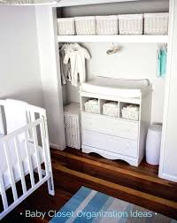 closet nursery ideas baby closet organization ideas love the changing table in the nursery closet baby closet nursery