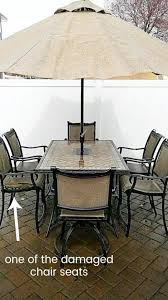 patio chair repair outdoor furniture repair broken patio chair slings