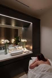 House Blend Lighting And Design Robert D Henry Architects Blend Salon Medispa Inviting
