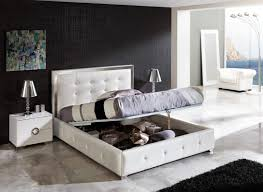 white modern bedroom furniture that can be lifted | HomeFurniture.org