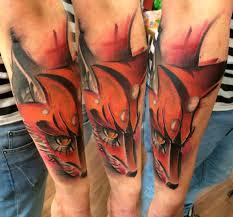 татуировка лиса значение эскизы тату и фото