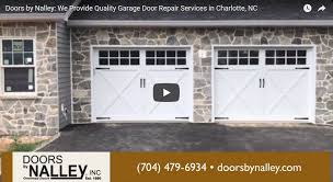 for your residential commercial garage door repair needs in charlotte nc contact us today doors by nalley inc