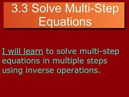 most viewed thumbnail algebra 3 3 solve multi step equations