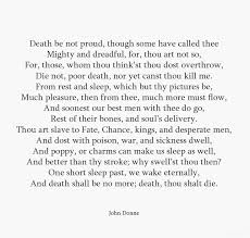 best poems images poem poems and poetry john donne death be not proud and god will wipe away every tear from their eyes there shall be no more death nor sorrow nor crying