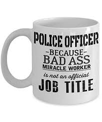 funny police officer gifts police academy graduation appreciation birthday retied gifts idea for men