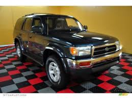 1997 Evergreen Pearl Metallic Toyota 4Runner Limited 4x4 #48663705 ...