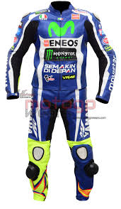 Valentino Rossi Vr46 Motorbike Racing Leather Suits