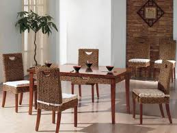 marvelous indoor wicker dining room chairs with indoor wicker dining room chairs idea