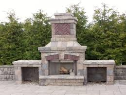 outdoor fireplace kits lowes. Sumptuous Outdoor Fireplace Kits Lowes Brilliant Design Thrifty Stoneage Manufacturing Wood Burning Kit Standard T