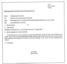Information Memo Template Navy Memorandum Format Sample