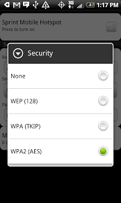 We Go Hands With The Sprint Mobile Hotspot App HTC EVO 4G