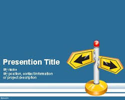 Follow Direction Powerpoint Template Is A Free Ppt Template