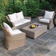 exterior interesting wicker arm chairs wood kingsley bate ideas