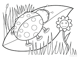 Spring Flower Coloring Sheets Free Flower Coloring Pages Easy Flower