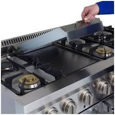 Why Dual Fuel Range Apro48dfss Aga Professional 48 Dual Fuel Range W Griddle
