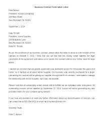 Termination Of Employment Letter Template Free Termination Letter Template Employment Employee Canada 7