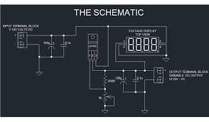 the extremely simple digital dc dc power supply 5 steps step 2 the schematic diagram