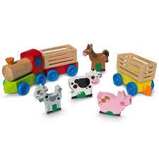 farm animals toys walmart. Wonderful Farm 4 Farm Animals On Wooden Train With 2 Cars Toy Set Throughout Toys Walmart I