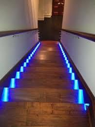 basement stairwell lighting. blue lights for theater room stairs basement stairwell lighting a