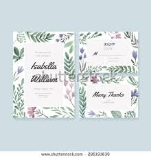 unique gentle vector wedding cards template stock vector 285191639 Wedding Invitation Postcard Vector unique gentle vector wedding cards template with watercolor wedding invitation or save the date, vector and psd - wedding invitation postcard