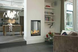 double sided gas fireplace inserts 2 sided corner gas fireplace inserts