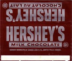 hershey candy bar wrapper 1967 hershey candy wrapper archive