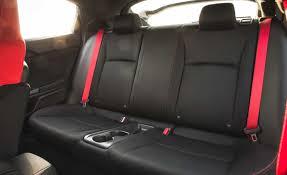 2017 honda civic type r interior seats rear passengers photo 22 of 48