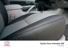 hilux invincible 200 interior 2008 2009