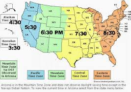 Map Of Time Zone Map Of Usa With States Oc Proposed