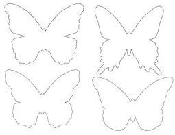 Pin By Birgit Keys On Crafts Patterns Butterfly Template