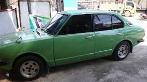 Old Toyota corolla 1974 - YouTube